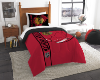 NHL Chicago Blackhawks Twin Comforter with Sham
