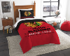NHL Chicago Blackhawks Twin Comforter Set