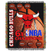 NBA Chicago Bulls Commemorative 48x60 Tapestry Throw