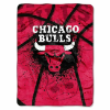 NBA Chicago Bulls SHADOW 60x80 Super Plush Throw