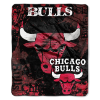 NBA Chicago Bulls REFLECT 50x60 Raschel Throw