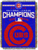 MLB Chicago Cubs 2016 National League Champs Commemorative Tapestry