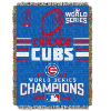 MLB Chicago Cubs 48x60 World Series Champions Throw