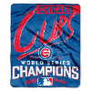 MLB Chicago Cubs World Series Champions 50x60 Silk Touch Blanket