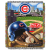 MLB Chicago Cubs Home Field Advantage 48x60 Tapestry Throw