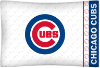 MLB Chicago Cubs Micro Fiber Pillow Cases (set of 2)