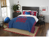 MLB Chicago Cubs QUEEN Comforter and 2 Shams
