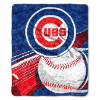 MLB Chicago Cubs SHERPA 50x60 Throw Blanket