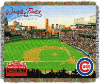MLB Chicago Cubs Stadium 48x60 Tapestry Throw