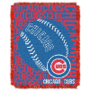 MLB Chicago Cubs 48x60 Triple Woven Jacquard Throw