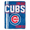 MLB Chicago Cubs Walk Off 50x60 Micro Raschel Throw