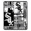 MLB Chicago White Sox 50x60 Fleece Throw Blanket