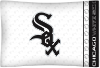 MLB Chicago White Sox Micro Fiber Pillow Cases (set of 2)