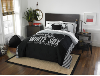 MLB Chicago White Sox QUEEN Comforter and 2 Shams