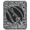 MLB Chicago White Sox 48x60 Triple Woven Jacquard Throw