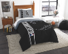 MLB Chicago White Sox Twin Comforter with Sham