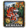 NFL Cincinnati Bengals Home Field Advantage 48x60 Tapestry Throw