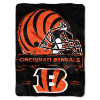NFL Cincinnati Bengals 60x80 Super Plush Throw Blanket