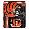 NFL Cincinnati Bengals 50x60 Raschel Throw