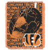 NFL Cincinnati Bengals SPIRAL 48x60 Triple Woven Jacquard Throw