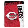 MLB Cincinnati Reds 60x80 Super Plush Throw Blanket