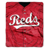 MLB Cincinnati Reds 50x60 Raschel Throw