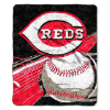 MLB Cincinnati Reds SHERPA 50x60 Throw Blanket