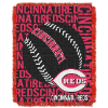 MLB Cincinnati Reds 48x60 Triple Woven Jacquard Throw