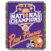 NCAA Clemson Tigers 2017 NCAA Football Champs Commemorative Tapestry