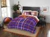 NCAA Clemson Tigers Full Comforter and 2 Shams