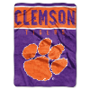 NCAA Clemson Tigers OVERTIME 60x80 Super Plush Throw