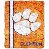 NCAA Clemson Tigers Sherpa 50x60 Throw Blanket