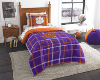 NCAA Clemson Tigers TWIN Size Bed In A Bag