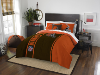 NFL Cleveland Browns Full Comforter and 2 Shams