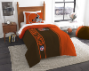 NFL Cleveland Browns Twin Comforter with Sham