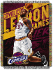 NBA Cleveland Cavaliers LeBron James 48x60 Tapestry Throw