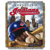 MLB Cleveland Indians Home Field Advantage 48x60 Tapestry Throw