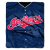 MLB Cleveland Indians 50x60 Raschel Throw