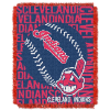MLB Cleveland Indians 48x60 Triple Woven Jacquard Throw