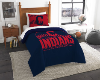 MLB Cleveland Indians Twin Comforter Set