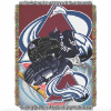 NHL Colorado Avalanche Home Ice Advantage 48x60 Tapestry Throw