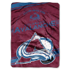 NHL Colorado Avalanche 60x80 Super Plush Throw Blanket