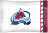 NHL Colorado Avalanche Micro Fiber Pillow Cases (set of 2)