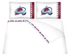 NHL Colorado Avalanche Micro Fiber Bed Sheets