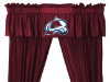 NHL Colorado Avalanche Valance - Locker Room Series