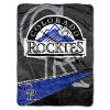 MLB Colorado Rockies 60x80 Super Plush Throw Blanket