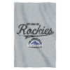 MLB Colorado Rockies Sweatshirt Blanket