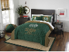 NCAA Colorado State Rams QUEEN Comforter and 2 Shams