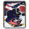 NHL Columbus Blue Jackets Home Ice Advantage 48x60 Tapestry Throw