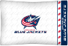 NHL Columbus Blue Jackets Micro Fiber Pillow Cases (set of 2)